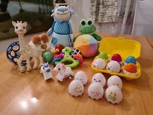 Spielzeug Paket packet sophie la girafe Tomy Fisher Price Motorik Etc