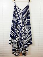 CITY CHIC Womens Size XL or 22 / US 18 Maxi Striped Dress