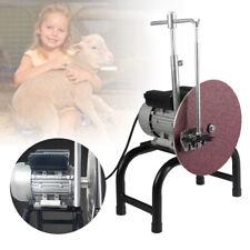 New Electric Sheep Clipper Shearing Blade Sharpener Shears Grinding Machine 110v
