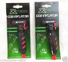 2 X CO2 C02 Pump 2 16g Cartridge Gas Tank Canister Cylinder Bike Bicycle Cycling