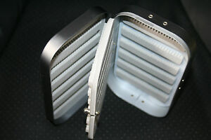 Aluminium fly box distinctive gunmetal grey Swing Leaf save 25% on 2 or more