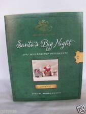 Hallmark Ornament- Santa's Big Night 2002 + others