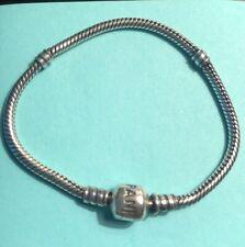 """Pandora Sterling Silver 7"""" Clasp Bracelet"""