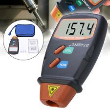 DT2234C Handheld Digital Laser Rev Counter Meter Non-contact Optical Tachometer