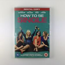 How To Be Single (DVD, 2016) r