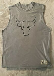 Under Armour Men's Project Rock Sweat Activated Graphic Tank Top Size Large