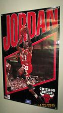 Vintage 1993 Michael Jordan Chicago Bulls NBA Starline Infinity Series Poster