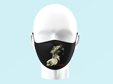 Freddie Mercury Queen Legend Face Mask Personalised Kids Adults Washable 0055