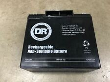 New DR Field & Brush Mower Battery 12v 17ah 10483 104831