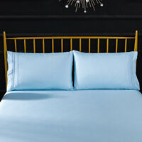 Luxury Pillowcase Matte Microfiber Bedding - Anti-Wrinkle, Hypoallergenic 2 Pcs