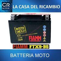 FTX9-BS BATTERIA MOTO FIAMM AGM TECHONOLOGY 8AH 12 V