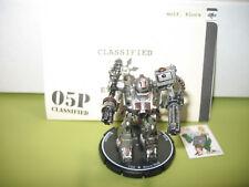 =Mechwarrior STEEL WOLVES Elora Wolf 122 Firestarter with dossier 41 =