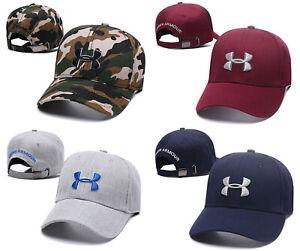 UA HIP-HOP Cotton Baseball Cap Sport Adjustable Men Women Golf Summer Visor Hat