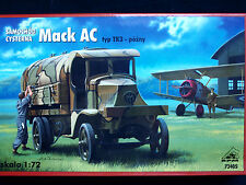 Mack ac type tk 3, tard, allied wwi fuel tanker, rpm, échelle 1/72