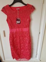 Joe browns lacey red party Dress Bnwt size 8