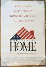 THE WAR AT HOME MOVIE POSTER 2 Sided ORIGINAL 27x40 EMILIO ESTEVEZ KATHY BATES