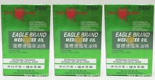 Eagle Brand Medicated Oil 鷹標德國風油精 Pain Relief Dau Xanh Con O 24ml x 3
