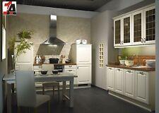 Grosse Landhausküche ALTANO Küche Einbauküche Kassettenfront Messemodell