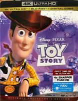 Disney Pixar Toy Story Ultimate Collector Edition Blu-Ray,4K HD,Digital B.NEW™