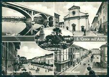 Pisa Santa Croce sull'Arno PIEGHINA Foto FG cartolina KF3259