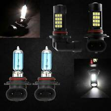 Combo 9006-Halogen 9005-LED Samsung 42 SMD Headlight Light Bulb High Low Beam