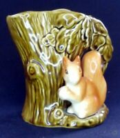 VTG 60s Sylvac Squirrel With Nut Posy Vase #4233 11cm Tall | FREE Delivery UK*