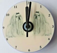 Maltese CD Clock by Curiosity Crafts