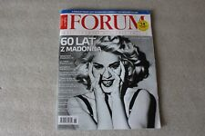 Forum 18/2018 front Madonna and  4 pages - Polish Magazine