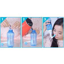 Adults Neti Pot Nasal Nose Wash Yoga Detox Sinus Allergies Relief Rinse hcuk