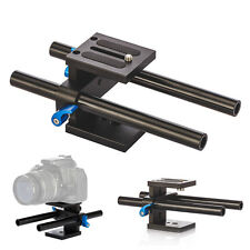 TARION 15mm Rail Rod Support System Baseplate Mount for DSLR Follow Focus Rig
