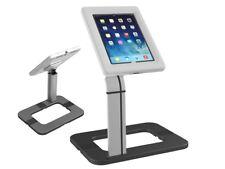 Maclean Mc-646 Supporto Tablet iPad da tavolo Antifurto per Esposizione Argento