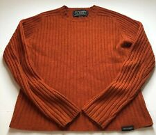 Abercrombie And Fitch Womens Outdoor Orange Sweater Size Small