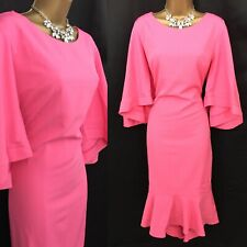 RED & ROYAL Dress Size 14/16 Pink Occasion Evening party BNWT RRP £129 A62