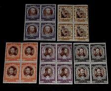 1946, VATICAN #110-114, COUNCIL OF TRENT, BLKS/4, SCARCE!!!,  MNH, NICE! LQQK!