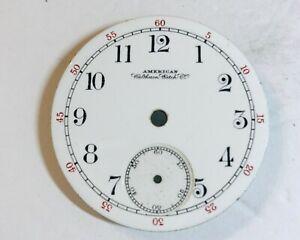 Vintage Waltham 18S Pocket Watch Dial