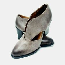 Jeffrey Campbell Free People Deep V Cutout Heels Boots Gray Size 8 NWOB