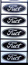 "5 X ""Fuct""stickers for wheels hubs alloys car/van/bumper/window/decal 5098black"