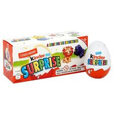 Kinder Surprise Easter Egg Pack 3 X 20G