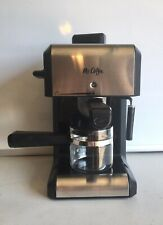 Mr Coffee Steam Espresso & Cappuccino Maker With Milk Frothing Tip *TESTED*