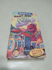 Barney All Aboard For Sharing VHS Tape