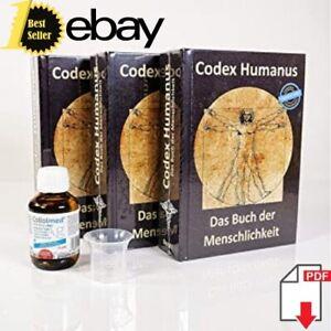 Codex Humanus Das Buch der Menschlichkeit Band 1/2/3 ✅ 3 Auflage ✅ 2020
