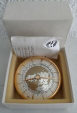 Fine IMHOF Suisse table clock with 8 day