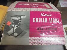 VINTAGE Kalimar Copier Light Use With Poloriod Copy Stand K-1695-K1698
