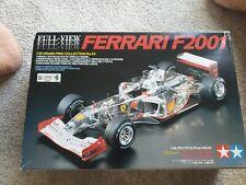 Vintage Tamiya 1/20 Ferrari F2001 Kit Completo vista versión F1 original no. 20054