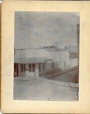 2  Cabinet Photo US Surveyor Office in Tucson AZ Ter– Penn & Myers Sts 1880s