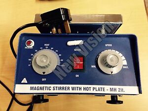 (220V) Magnetic Stirrer With Hot Plate upto 2000ml With UK Plug Fast Shipping