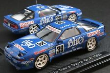 EBBRO 43975 1:43 SCALE 1989 BIJO TOM'S TOYOTA SUPRA JZA70 GROUP A DIE CAST MODEL