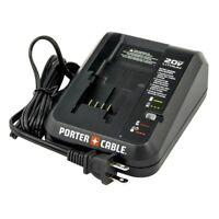 Porter Cable OEM PCC691L 20V 90599245-01 Lithium Ion charger PCC621LB PCC710LA