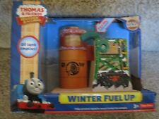 Thomas & Friends Wooden railway WINTER FUEL UP Oil Tank Track Station Toy 2013