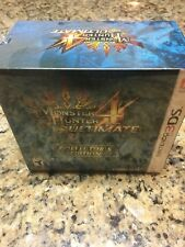 Monster Hunter 4 Ultimate Collector's Edition Nintendo 3DS New & Sealed